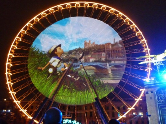 Fete des lumières Lyon 2014
