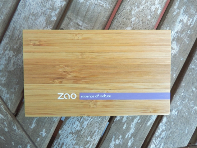 ma palette Zao Make Up slow cosmetique 2